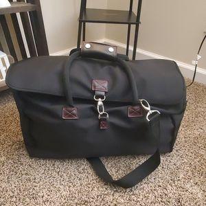 Victoria's Secret Black Duffel Bag